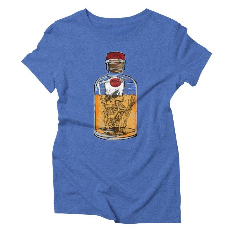 Feeling All Bottled Up Inside... Women's Triblend T-shirt by thewayofpk - wear 2 scare