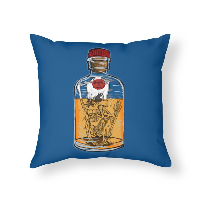 Feeling All Bottled Up Inside... Home Throw Pillow by thewayofpk