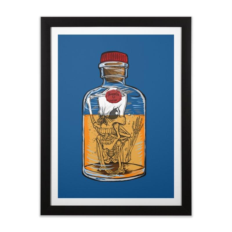 Feeling All Bottled Up Inside... Home Framed Fine Art Print by thewayofpk - wear 2 scare