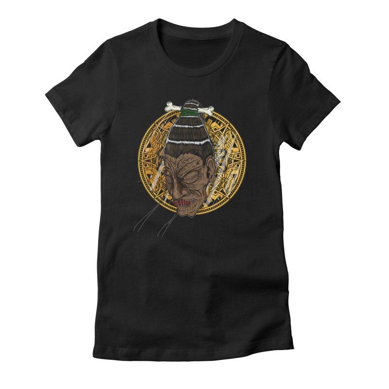 Can U Keep A Secret? Women's Fitted T-Shirt by thewayofpk - wear 2 scare