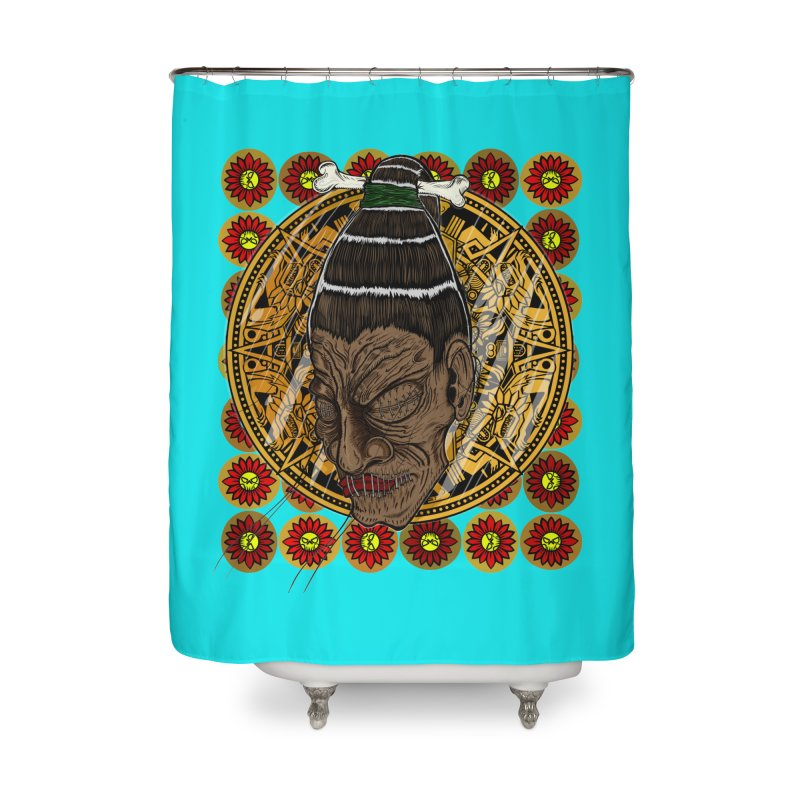 Aztecthica Home Shower Curtain by THEWAYOFPK