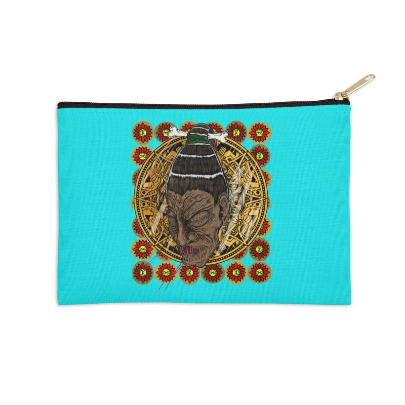 Aztecthica Accessories Zip Pouch by thewayofpk - wear 2 scare