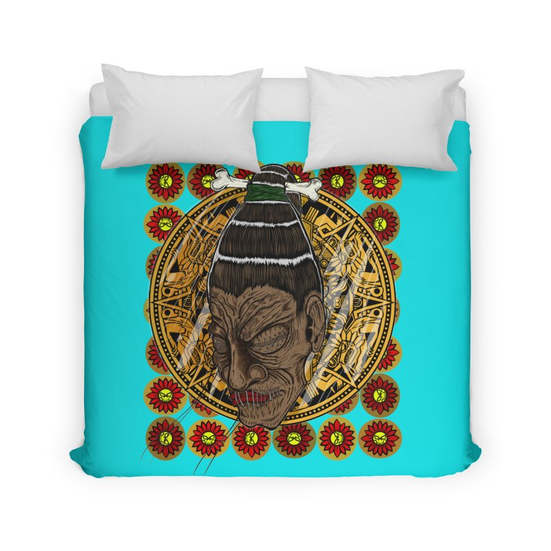 Aztecthica Home Duvet by THEWAYOFPK