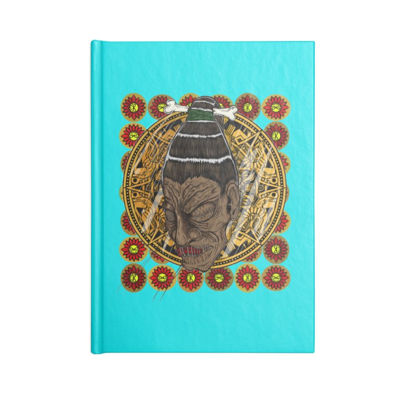 Aztecthica Accessories Notebook by THEWAYOFPK