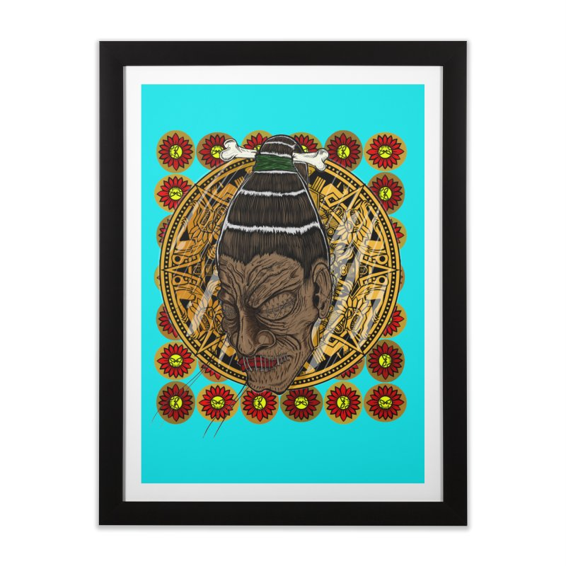 Aztecthica Home Framed Fine Art Print by THEWAYOFPK