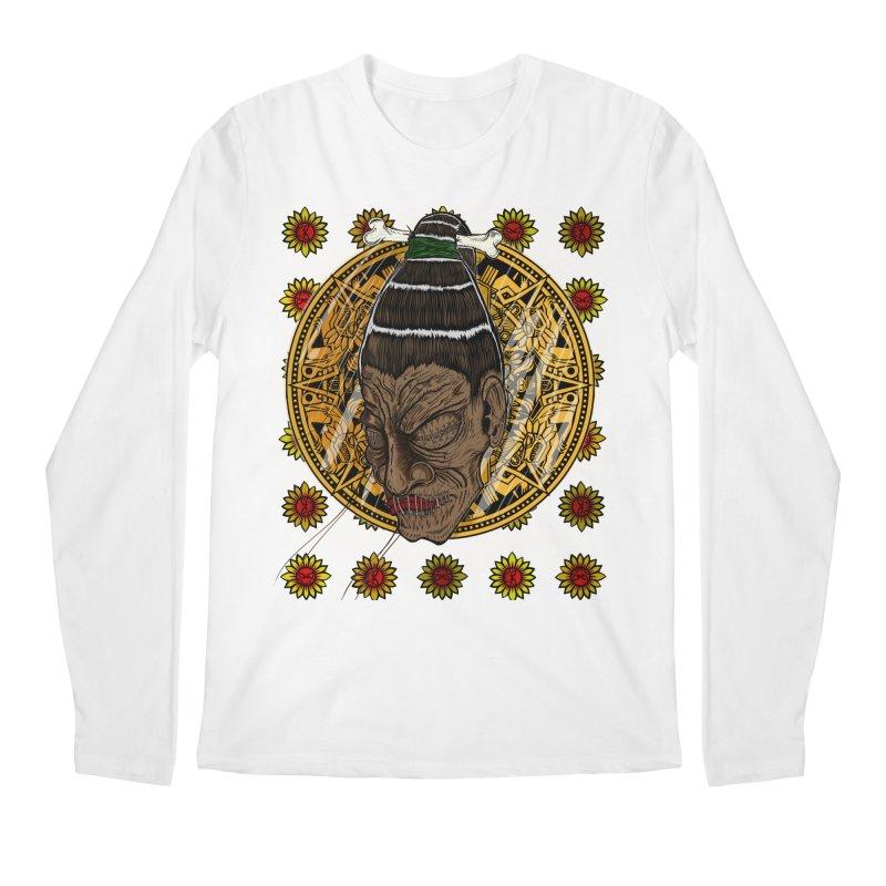 Aztecthica Men's Longsleeve T-Shirt by thewayofpk - wear 2 scare