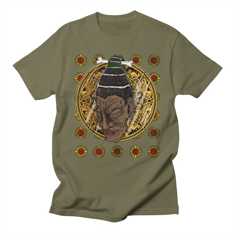 Aztecthica Men's T-shirt by thewayofpk - wear 2 scare