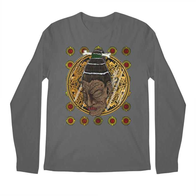 Aztecthica Men's Longsleeve T-Shirt by THEWAYOFPK