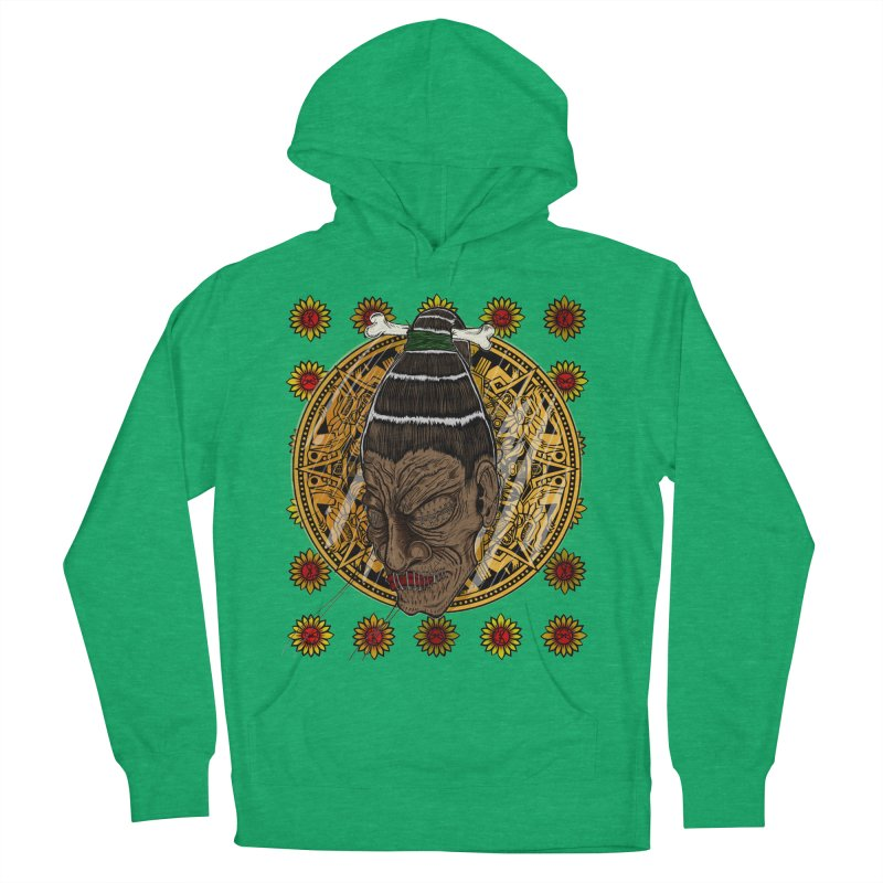 Aztecthica Men's French Terry Pullover Hoody by THEWAYOFPK