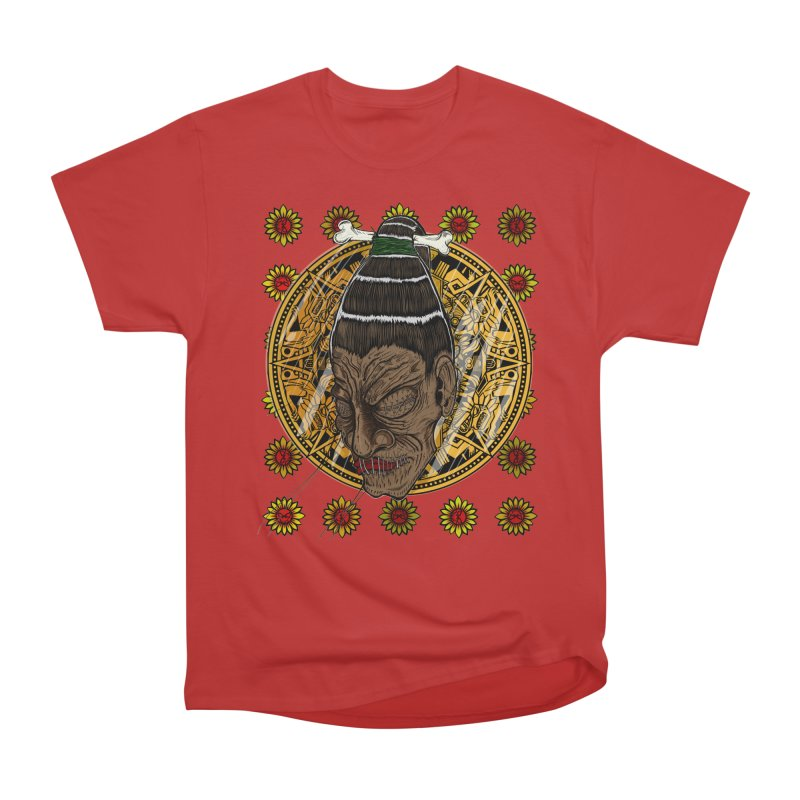 Aztecthica Men's Classic T-Shirt by thewayofpk - wear 2 scare