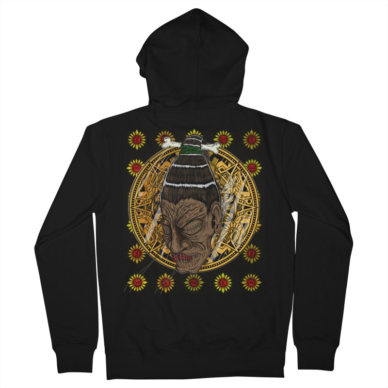 Aztecthica Men's French Terry Zip-Up Hoody by THEWAYOFPK