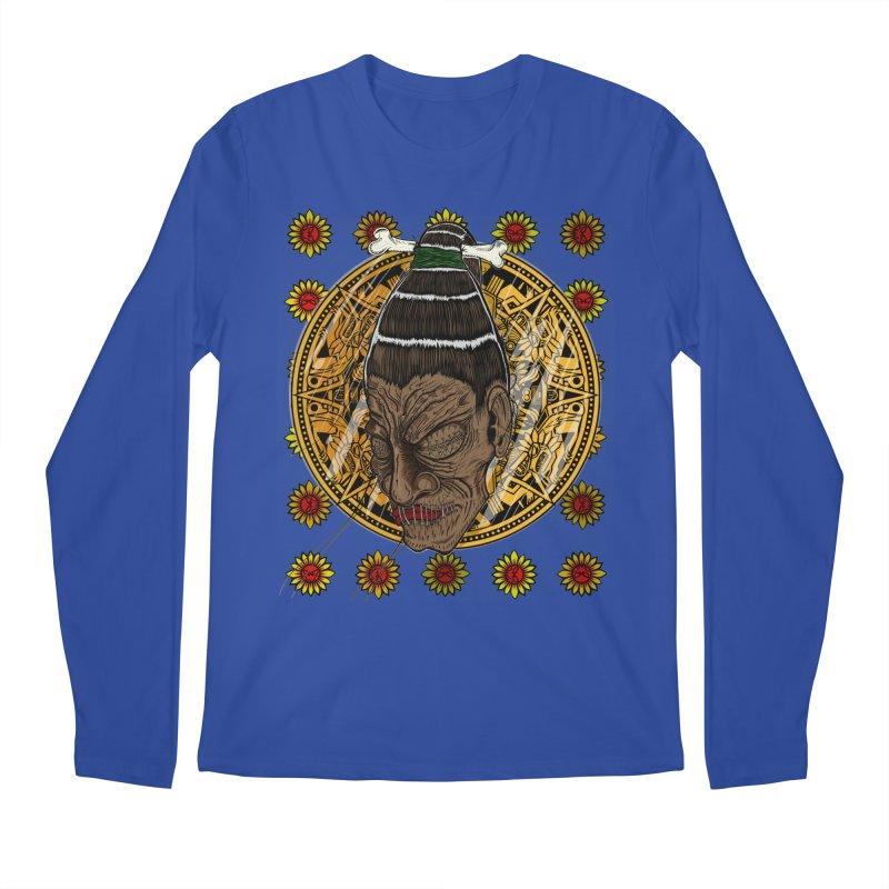 Aztecthica Men's Regular Longsleeve T-Shirt by THEWAYOFPK