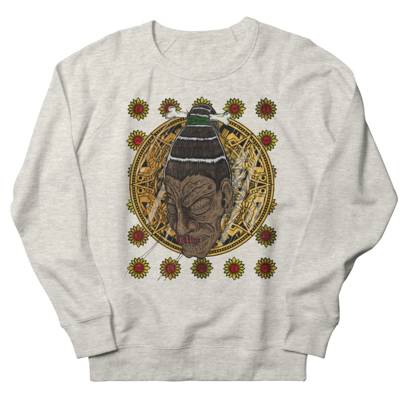 Aztecthica Women's French Terry Sweatshirt by THEWAYOFPK