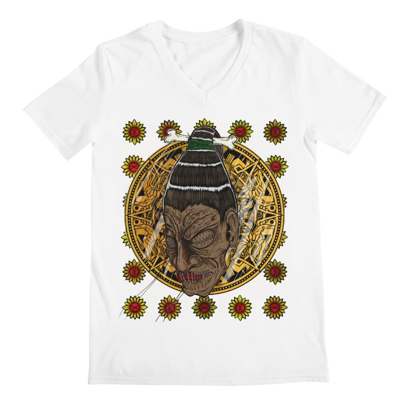 Aztecthica Men's V-Neck by thewayofpk