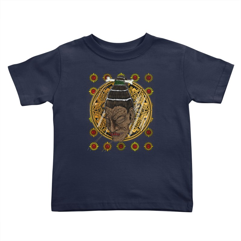 Aztecthica Kids Toddler T-Shirt by THEWAYOFPK