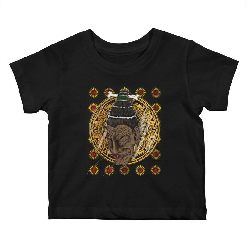 Aztecthica Kids Baby T-Shirt by thewayofpk