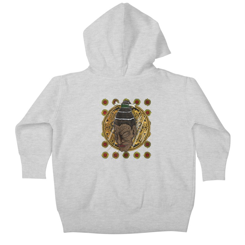 Aztecthica Kids Baby Zip-Up Hoody by THEWAYOFPK