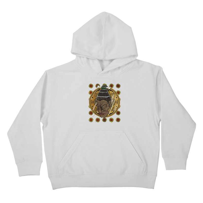 Aztecthica Kids Pullover Hoody by thewayofpk - wear 2 scare