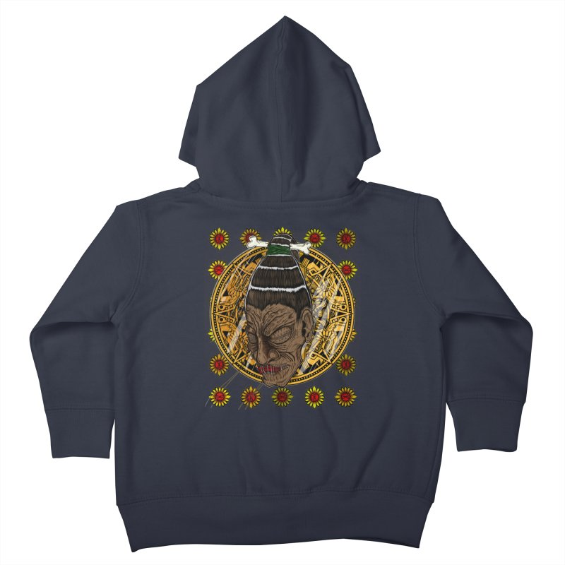 Aztecthica Kids Toddler Zip-Up Hoody by thewayofpk - wear 2 scare