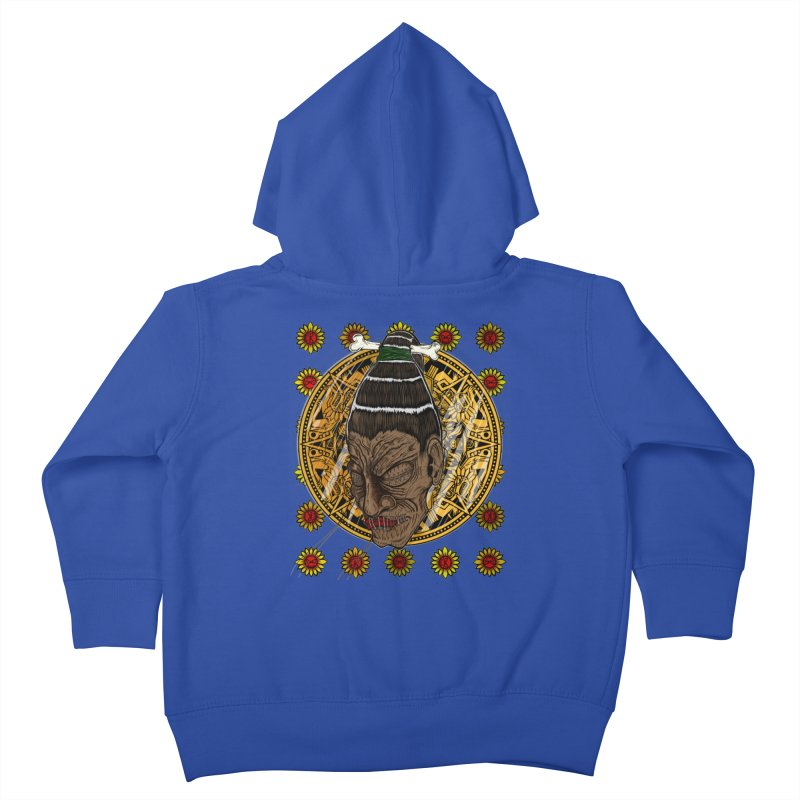 Aztecthica Kids Toddler Zip-Up Hoody by thewayofpk