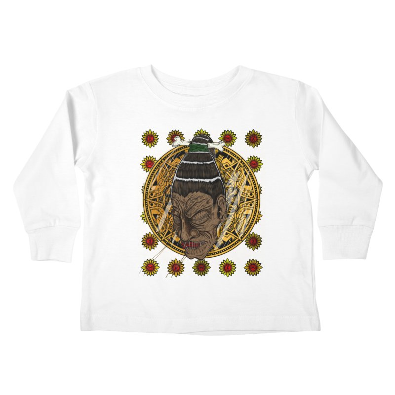 Aztecthica Kids Toddler Longsleeve T-Shirt by THEWAYOFPK
