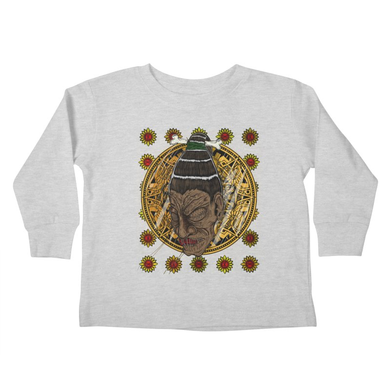 Aztecthica Kids Toddler Longsleeve T-Shirt by thewayofpk - wear 2 scare