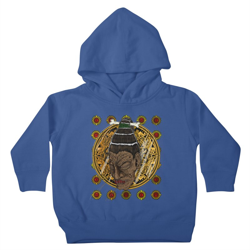 Aztecthica Kids Toddler Pullover Hoody by thewayofpk