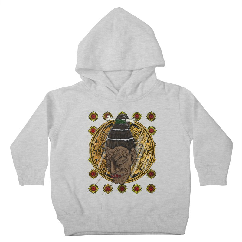 Aztecthica Kids Toddler Pullover Hoody by thewayofpk - wear 2 scare