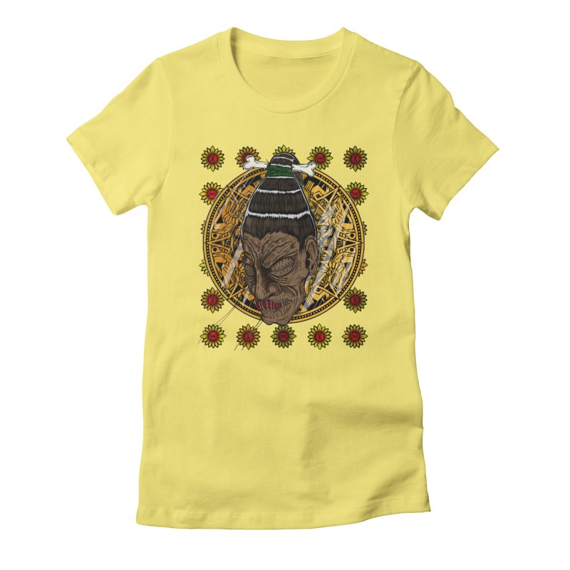 Aztecthica Women's Fitted T-Shirt by THEWAYOFPK