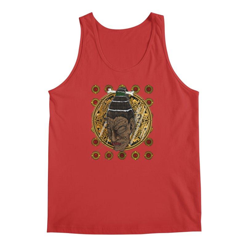 Aztecthica Men's Tank by thewayofpk - wear 2 scare