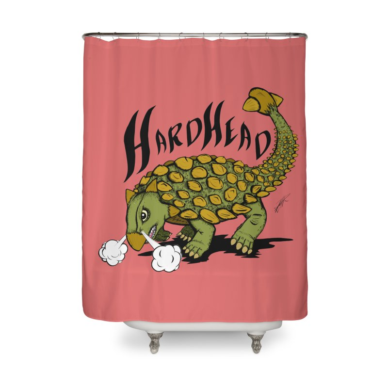 Hard Headed  Home Shower Curtain by THEWAYOFPK