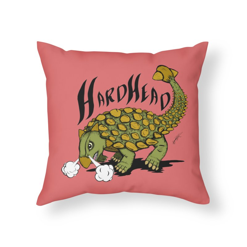 Hard Headed  Home Throw Pillow by thewayofpk