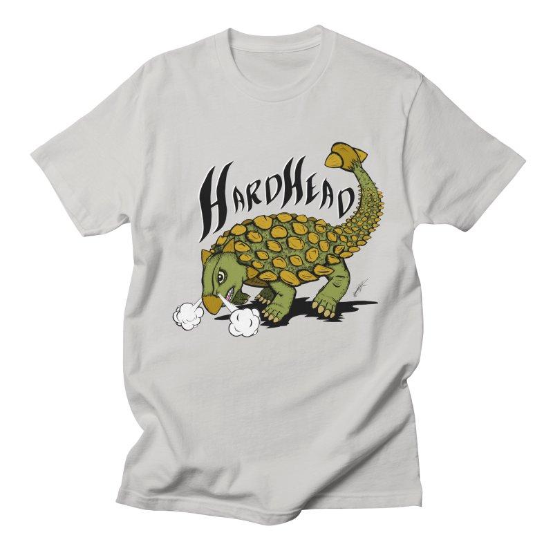 Hard Headed  Men's T-shirt by thewayofpk - wear 2 scare