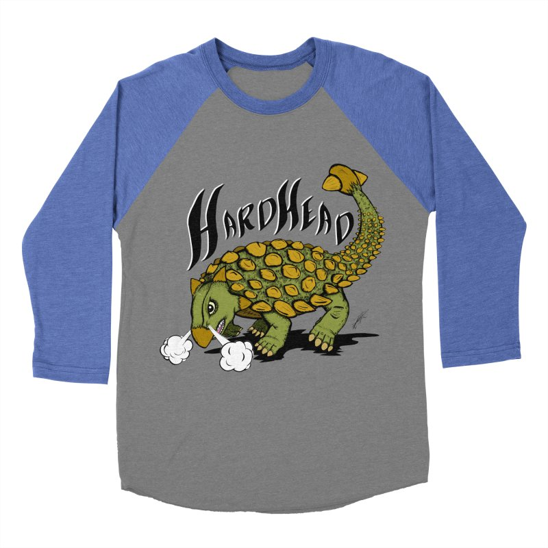 Hard Headed  Women's Baseball Triblend T-Shirt by thewayofpk - wear 2 scare