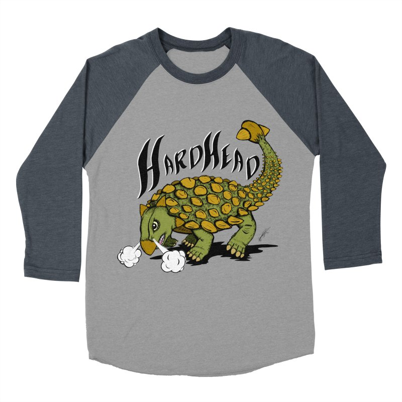 Hard Headed  Men's Baseball Triblend T-Shirt by thewayofpk