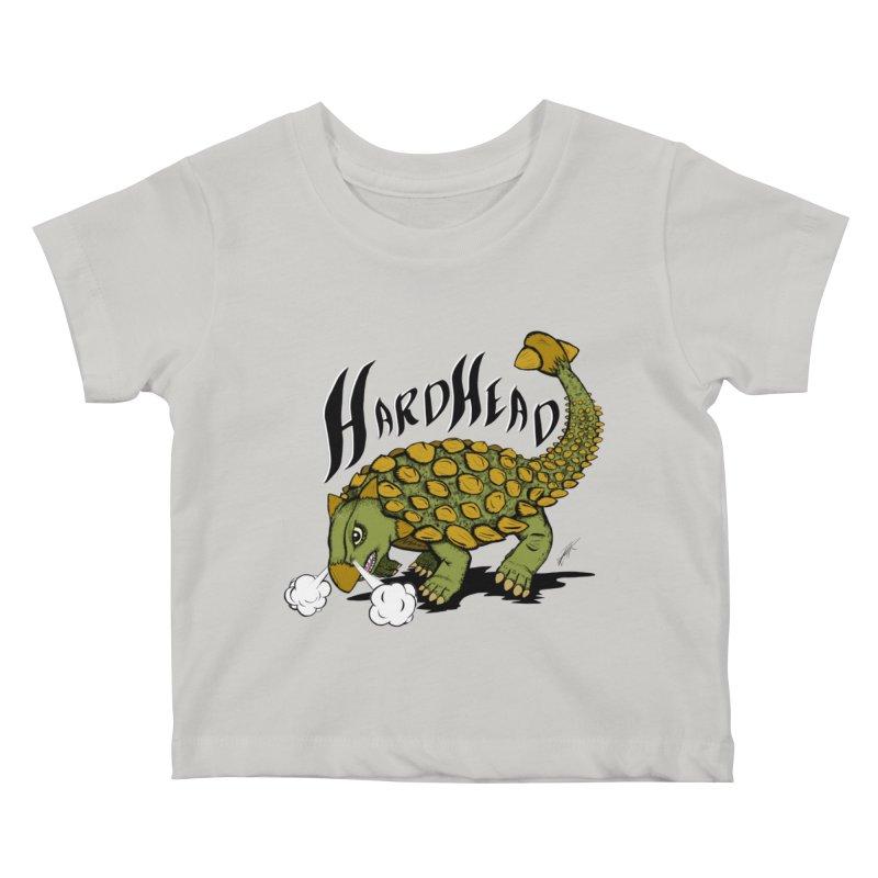 Hard Headed  Kids Baby T-Shirt by thewayofpk