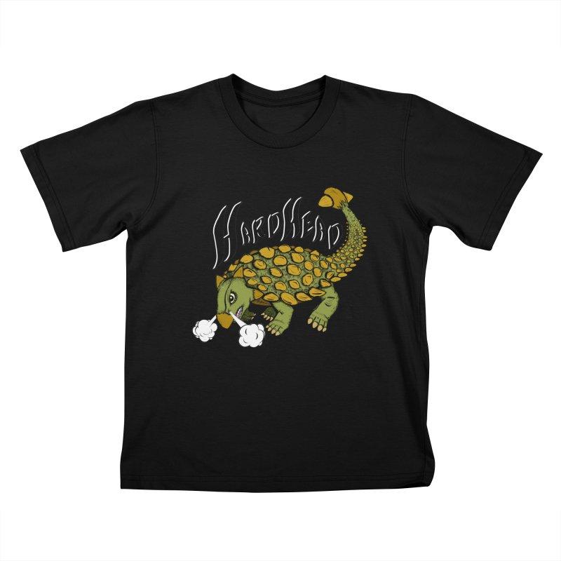 Hard Headed  Kids T-Shirt by THEWAYOFPK