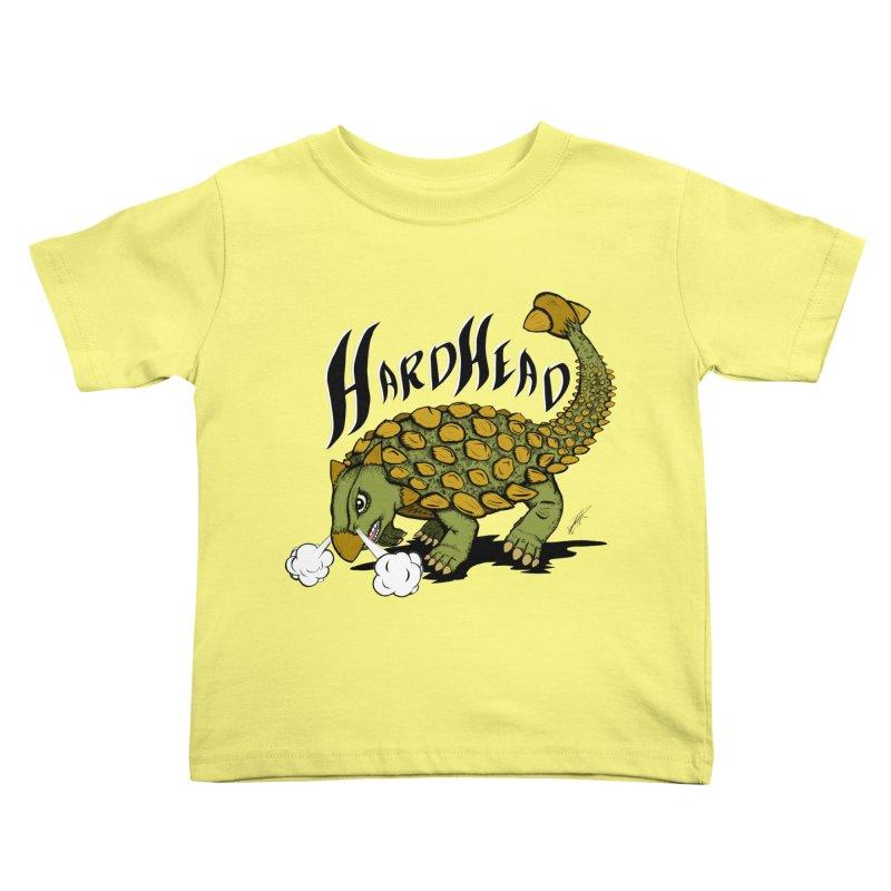 Hard Headed  Kids Toddler T-Shirt by THEWAYOFPK