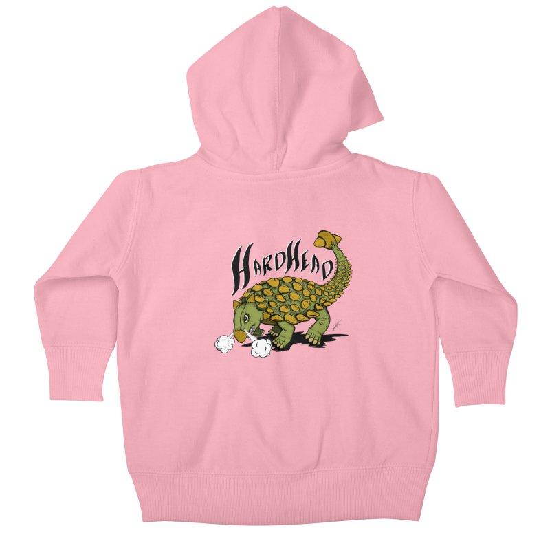 Hard Headed  Kids Baby Zip-Up Hoody by thewayofpk - wear 2 scare