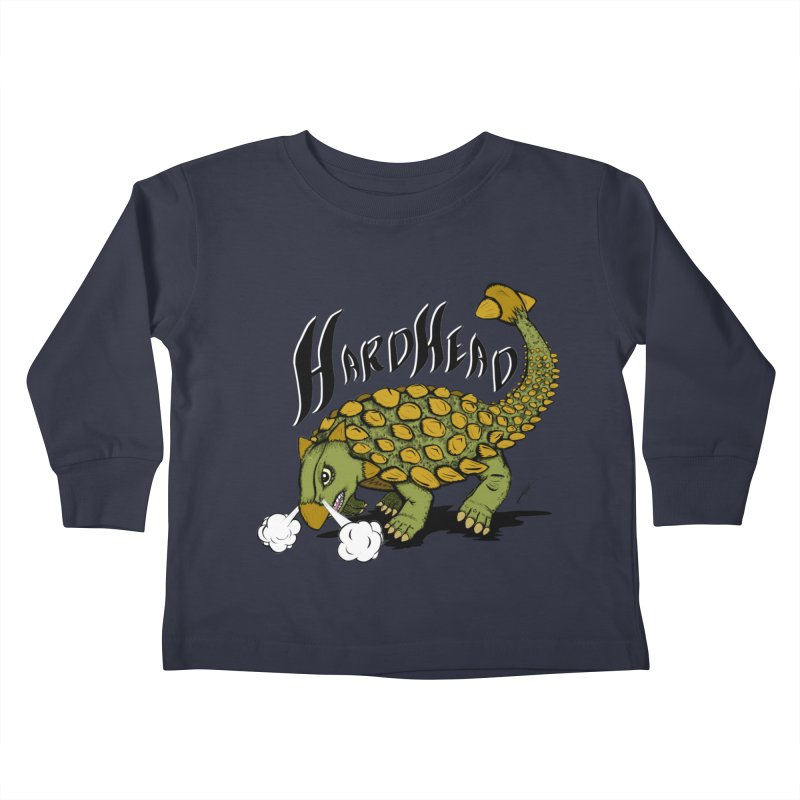 Hard Headed  Kids Toddler Longsleeve T-Shirt by THEWAYOFPK