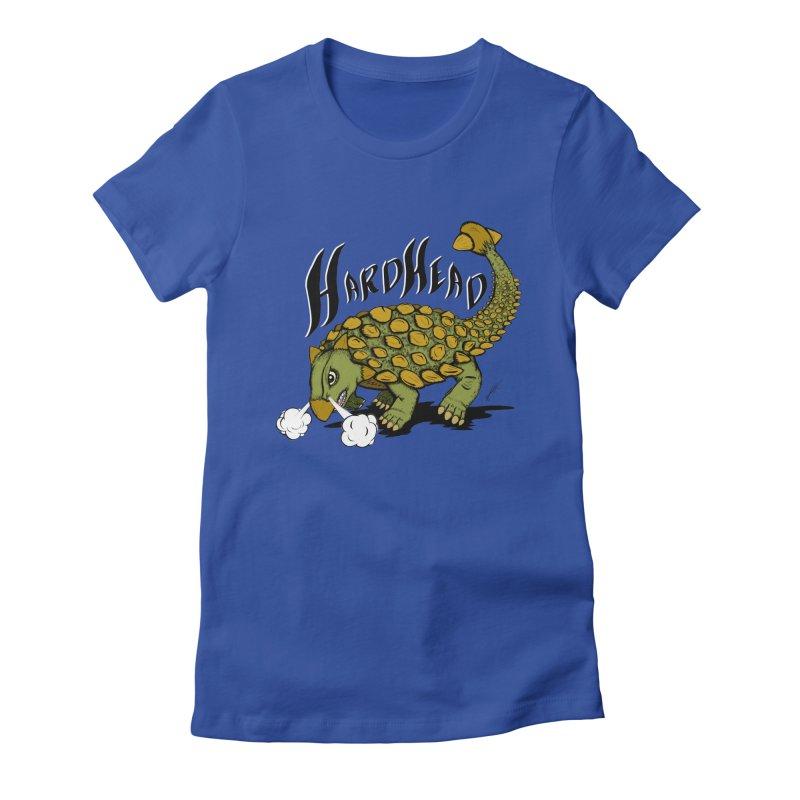 Hard Headed  Women's Fitted T-Shirt by thewayofpk - wear 2 scare