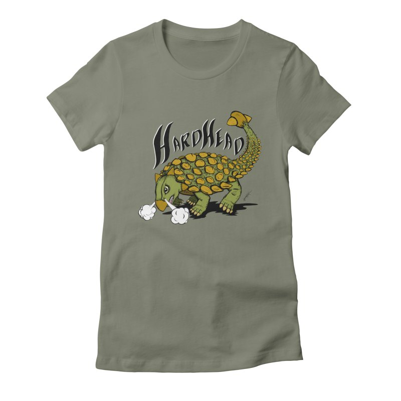 Hard Headed  Women's Fitted T-Shirt by THEWAYOFPK