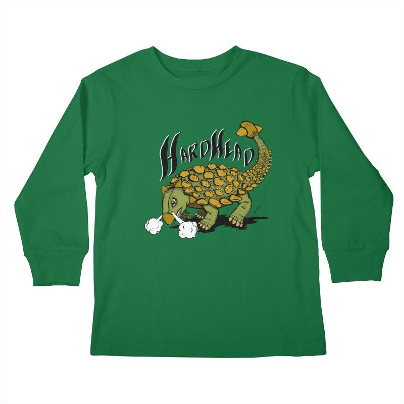 Hard Headed  Kids Longsleeve T-Shirt by THEWAYOFPK