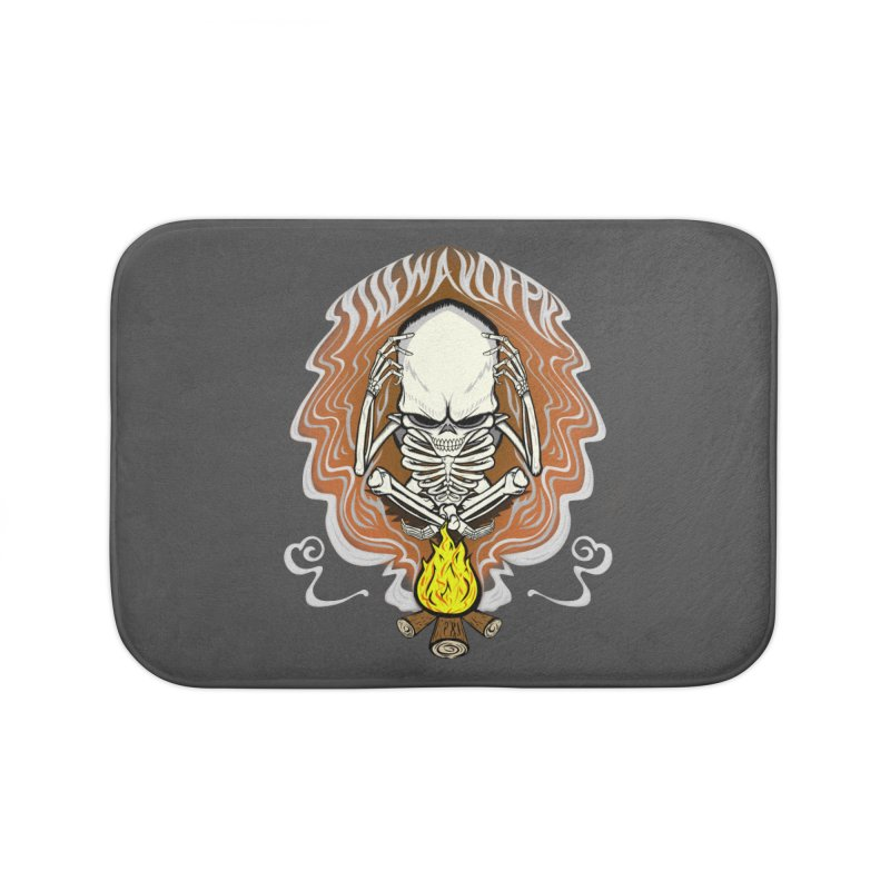 The Perpetual Schemer Home Bath Mat by THEWAYOFPK