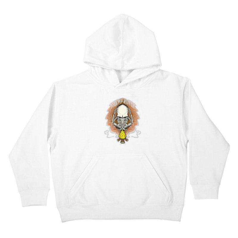 The Perpetual Schemer  Kids Pullover Hoody by thewayofpk - wear 2 scare