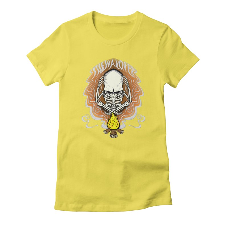 The Perpetual Schemer Women's Fitted T-Shirt by THEWAYOFPK