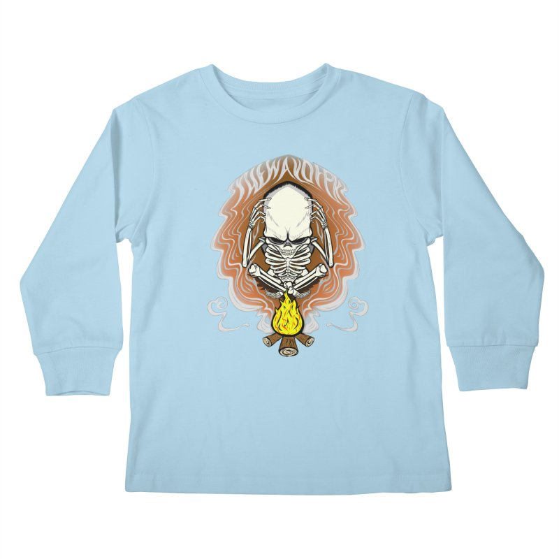 The Perpetual Schemer Kids Longsleeve T-Shirt by THEWAYOFPK