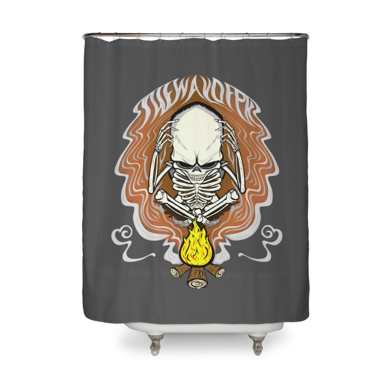 The Perpetual Schemer Home Shower Curtain by THEWAYOFPK
