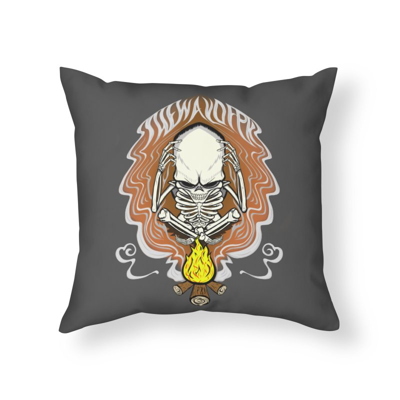 The Perpetual Schemer  Home Throw Pillow by thewayofpk