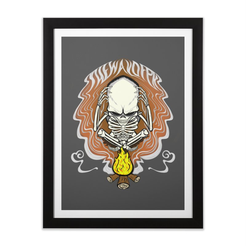 The Perpetual Schemer Home Framed Fine Art Print by THEWAYOFPK